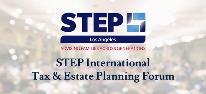 Bridgeford Trust to Sponsor STEP LA's International Tax & Estate